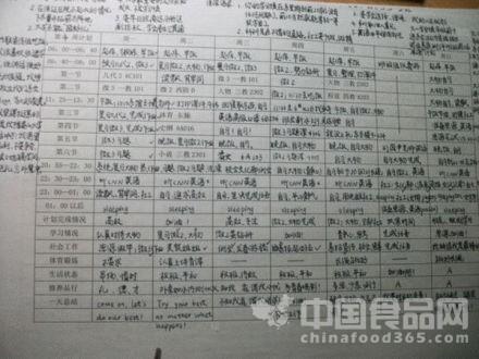 清华学霸计划书网络走红 学霸姊妹花惹网友膜拜