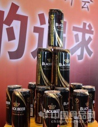 兰州黄河嘉酿啤酒首推高端黑啤酒