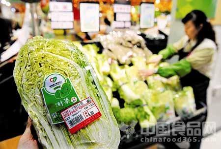 """昆明菜市场菜肉有了""""身份证"""" 食品安全可追溯"""