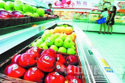 水果贴标签 涨了身价遮了伤疤