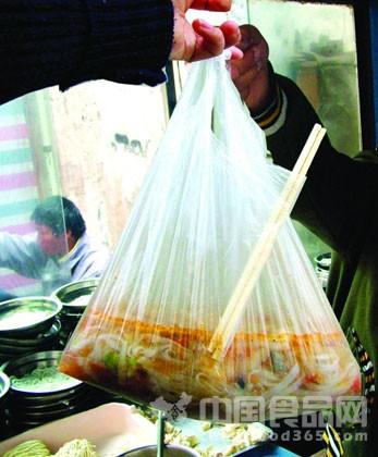 宁夏禁止餐饮服务环节滥用塑料袋套碗